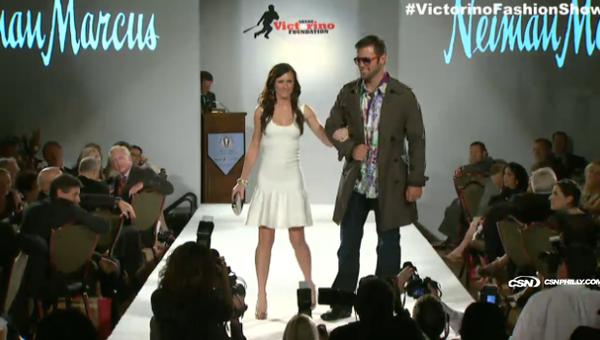 Shane Victorino All-Star Celebrity Fashion Show