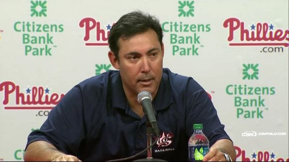 "Ruben Amaro: Phillies ""Going With What We Got"""