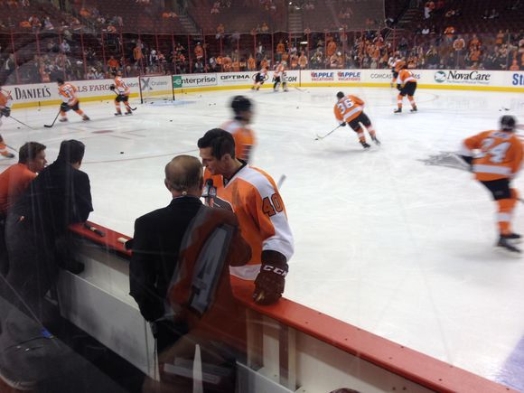 Hartnell out 2-4 weeks, Lecavalier out a week
