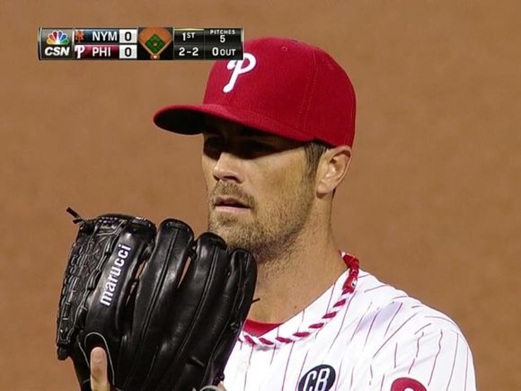 Phillies Send Cole Hamels to Mound To Tie Series