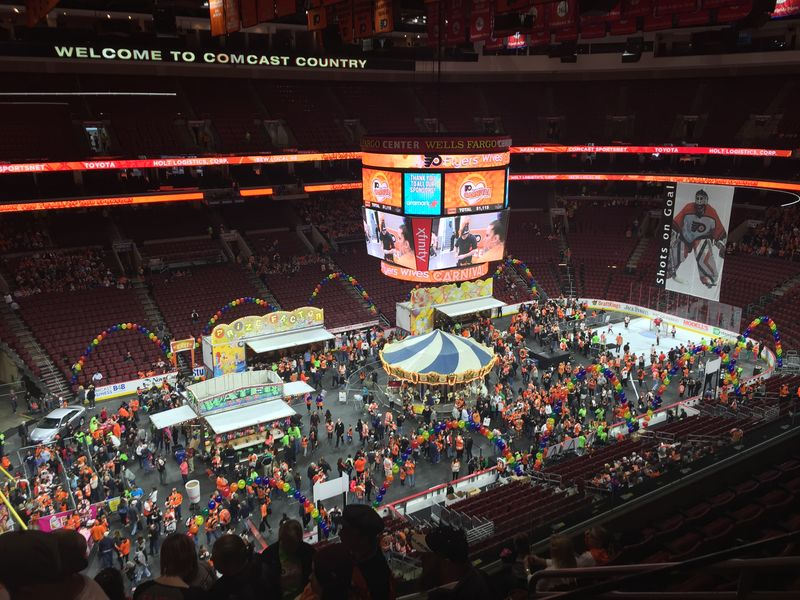 photo gallery flyers wives carnival sports talk philly