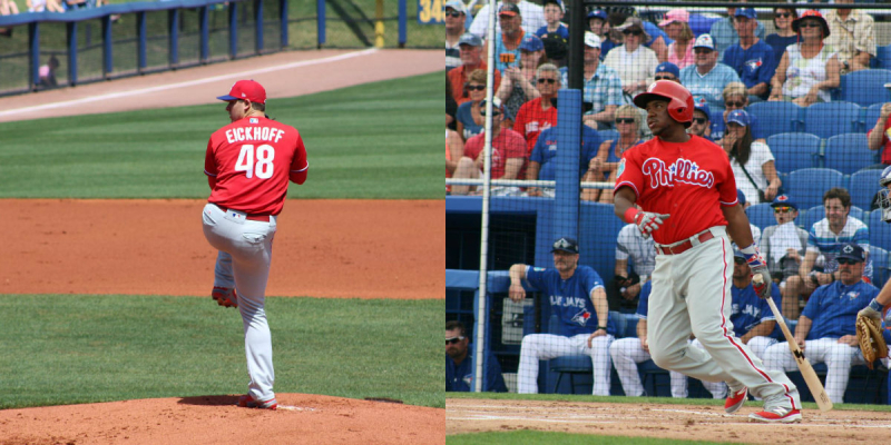 Jerad eickhoff and maikel franco