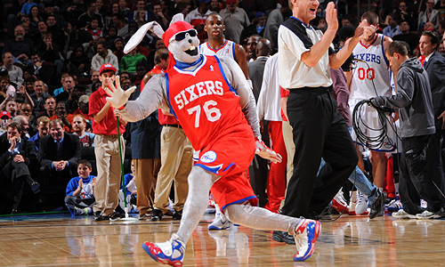 Sixers to Unveil New Mascot on February 10th - Sports Talk