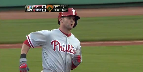 """Michael Young of the Phillies: Red Sox """"Want Him Badly; Yankees Interested"""