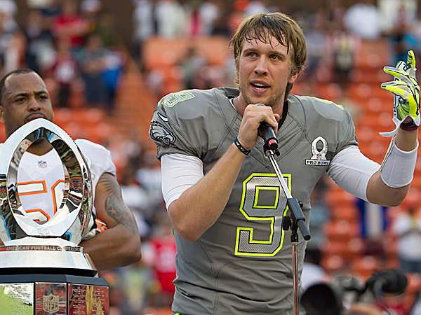 Image result for nick foles pro bowl mvp