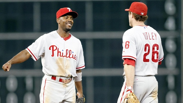 Chase utley and jimmy rollins