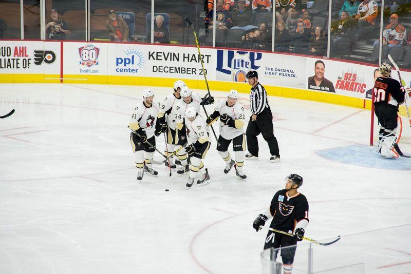 Penguins Celebration