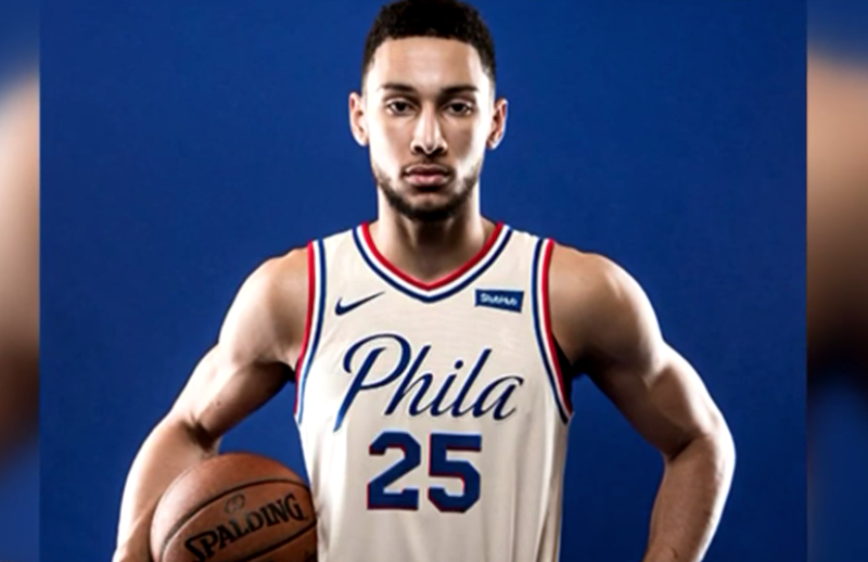 d76f7cfa Sixers ranked No. 3 in NBA apparel sales, highest since 2002-03 - Sports  Talk Philly: Philadelphia Sports News and Rumors