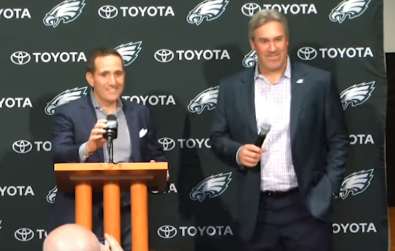 2018-08-05 18_35_54-Eagles Press Pass_ Howie Roseman  Doug Pederson  Joe Douglas (4_27_18) - YouTube