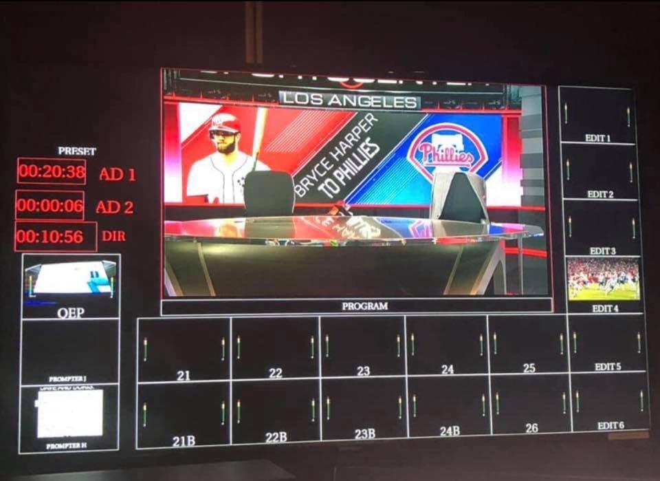 ESPN, Las Vegas Preparing for Phillies to Sign Bryce Harper