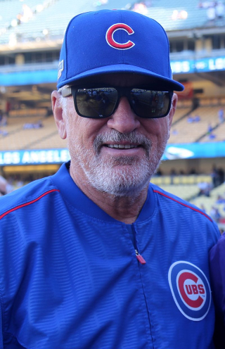 2016-10-20_Joe_Maddon_before_NLCS_Game_5_at_Dodger_Stadium